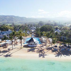 Aéreo piscina y playa Le Telfair Heritage