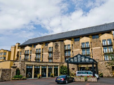 Old Course Hotel entrada
