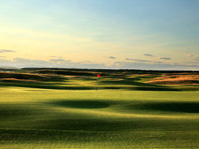 ST ANDREWS, UNITED KINGDOM - JULY 29:  A view from behind the green on the par 4, 12th hole with the 11th green in the distance on the Old Course at St Andrews venue for The Open Championship in 2015, on July 29, 2014 in St Andrews, Scotland.  (Photo by David Cannon/Getty Images)