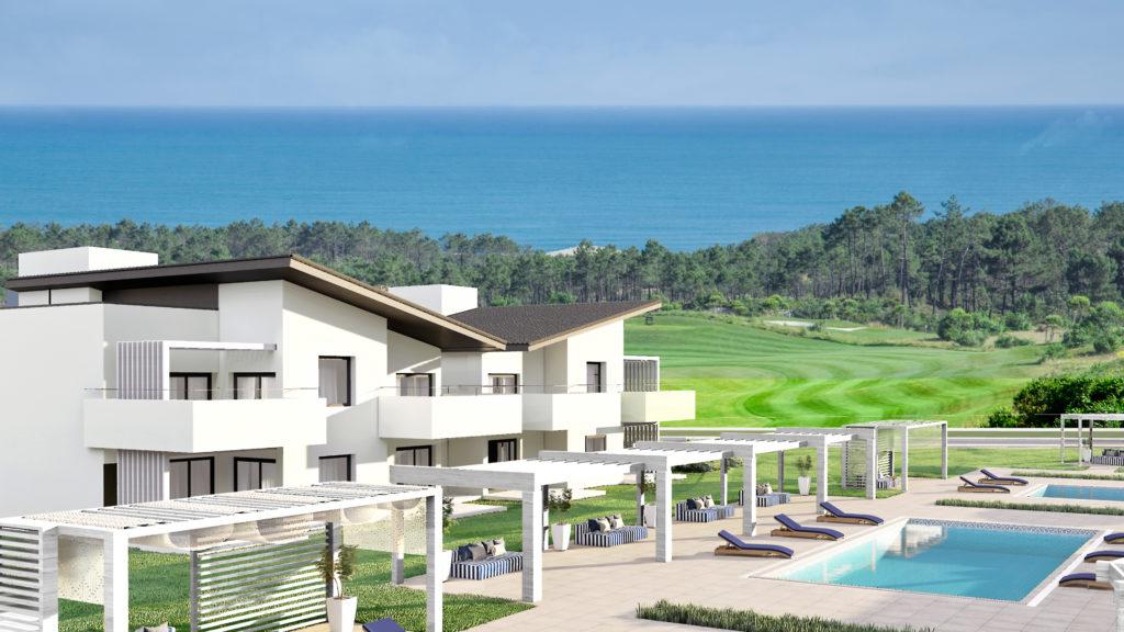 Royal Obidos apartamentos piscinas
