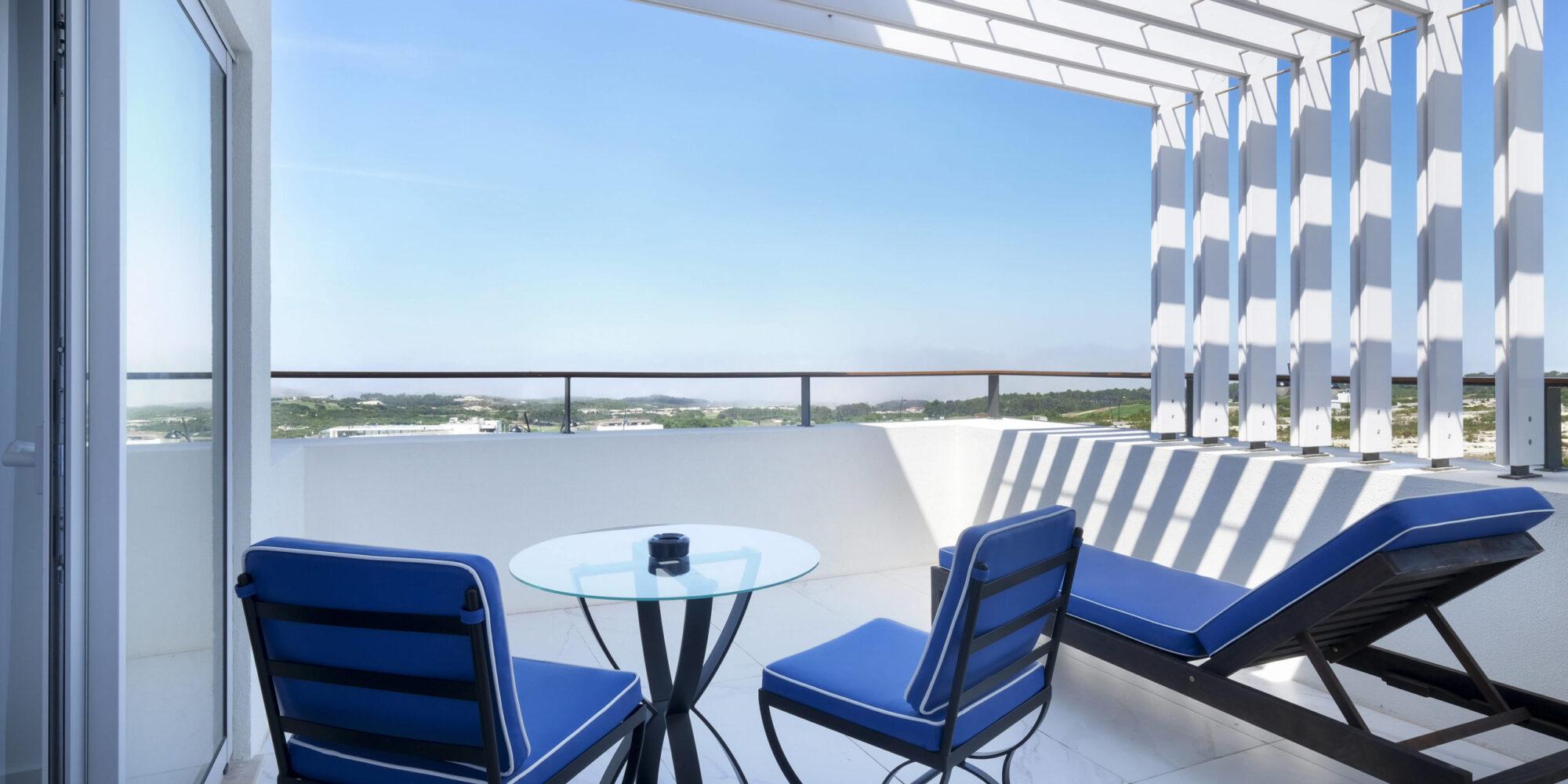 Royal Obidos apartamentos terraza